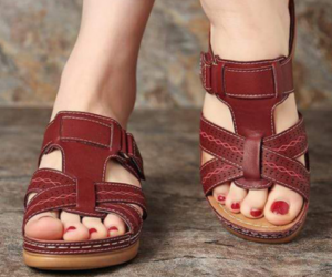 Happy & Free Soft Comfy Orthopedic Bunion Sandals